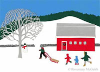Ski Hill by Rosemary McGuirk