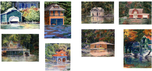 Sunapee Boathouse Cards 2