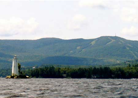 Mt Sunapee from Lake Sunapee