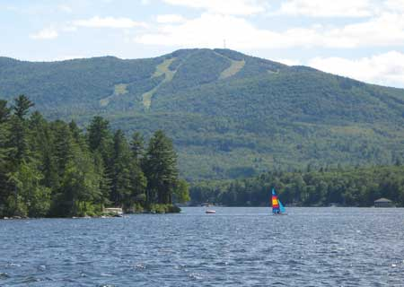 Mt Sunapee from Blodgett