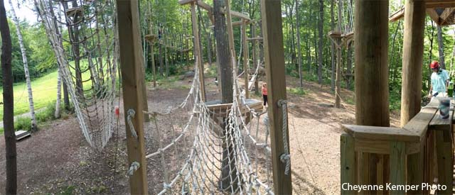 Mount Sunapee Aerial Challenge Course 2