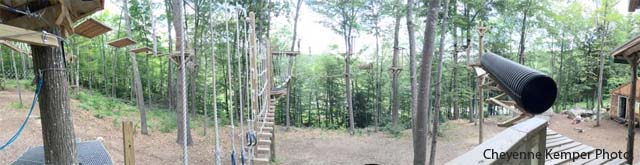 Mount Sunapee Aerial Challenge Course 3