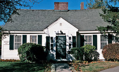 Webster Cottage Museum.