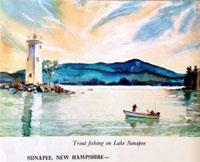 Lake Sunapee Art Prints