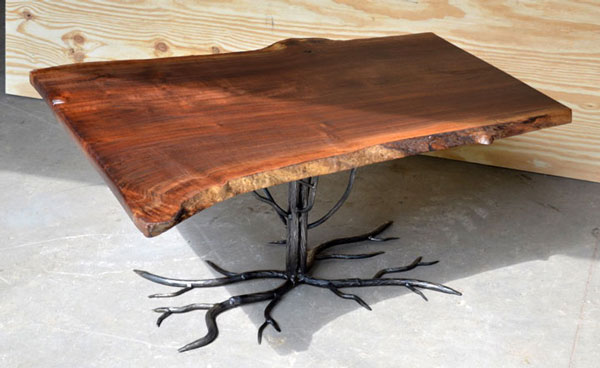 Tree with Root System Coffee Table
