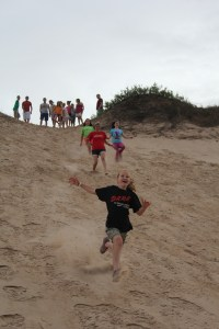 The dune climb is ok...but the dune run-down-as-fast-as-you-can is AWESOME!