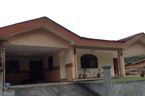 Two Peaks Residential Nuevo Arenal Home with Attached Garage
