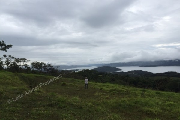 1.4 Acre Private Land with Stunning Views of Lake Arenal and Volcano Arenal