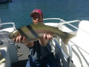 Fishing at Lake Arrowhead