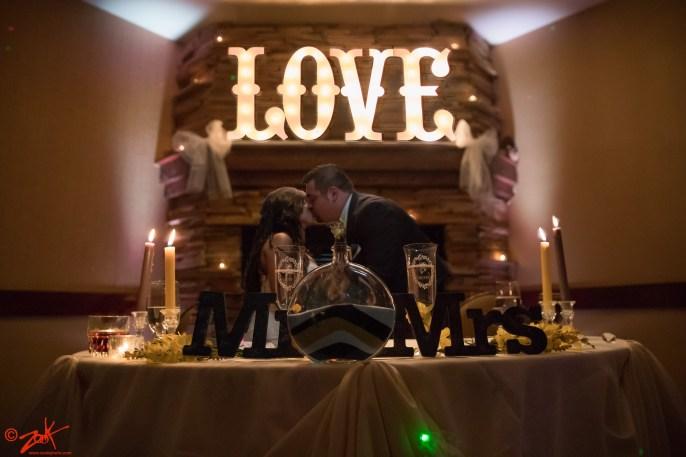 love wedding lake arrowhead