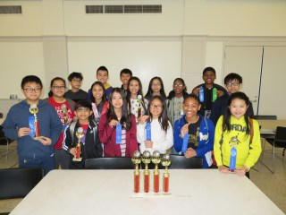 1st Place at Brother Martin Mu Alpha Theta Math Tournament 2018