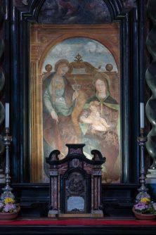 20 altare laterale con affresco