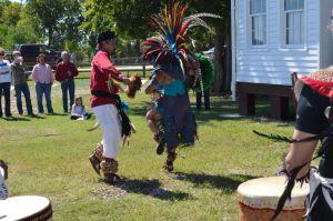 Aztec Dancers at Texian Heritage Festival
