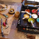 Exploring ancient art techniques with Houston artist Salli Babbitt