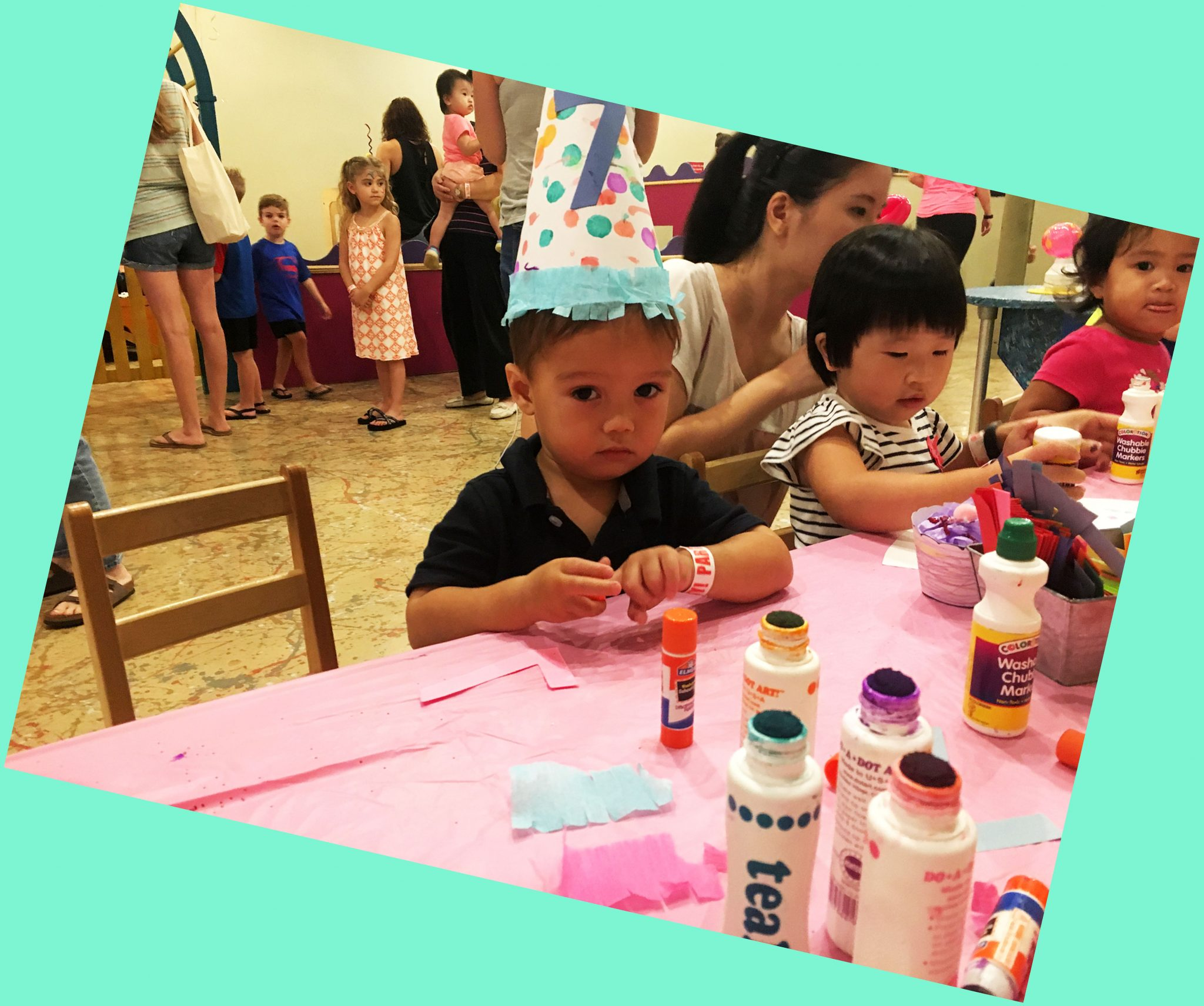 Eighth Birthday Celebration at The Woodlands Children's Museum