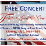 World renowned pianists' free concert — A Tribute to God & Country, July 2