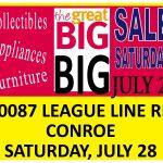 Huge Garage Sale — Christ Church, Conroe — Saturday, July 28