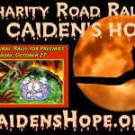 2018 Inaugural Road Rally for Caiden's Hope — October 27