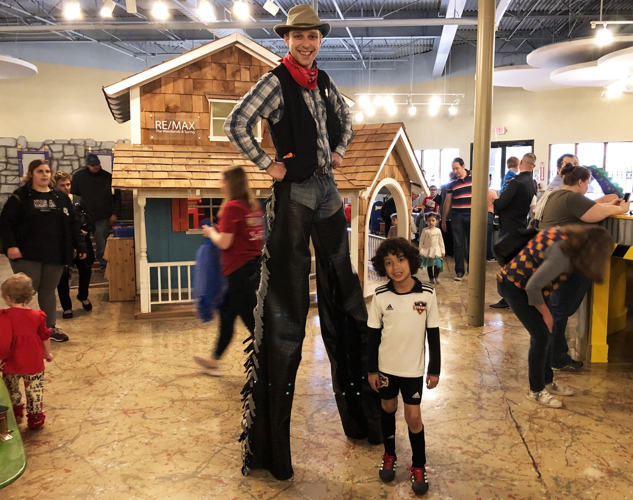 Texas Independence Day at The Woodlands Children's Museum