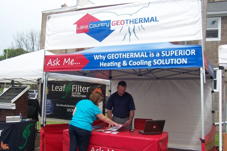 Lake Country Geothermal representative