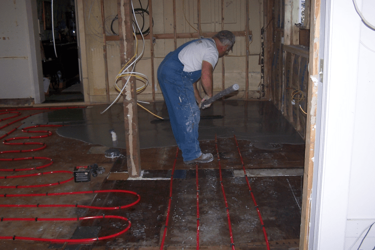 Gypsum Cement Pouring