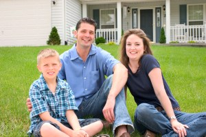 Family enjoying geothermal benefits