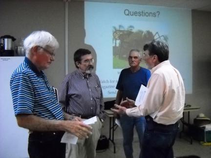 (l-r) Mike Wooton, Phil Craft, Larry Burton, Doug Brock