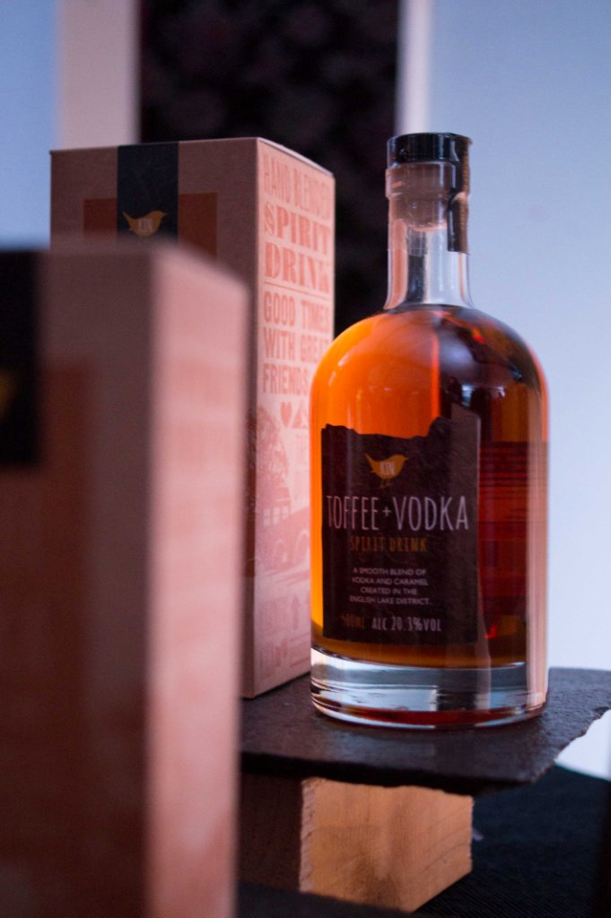 Kin Toffee Vodka at the Kendal Festival of Food