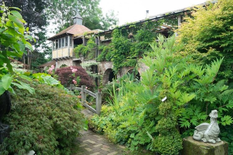 'La Casa Verde' Restaurant at Larch Cottage Nurseries