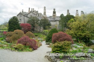 Sizergh Castle's rock garden in May