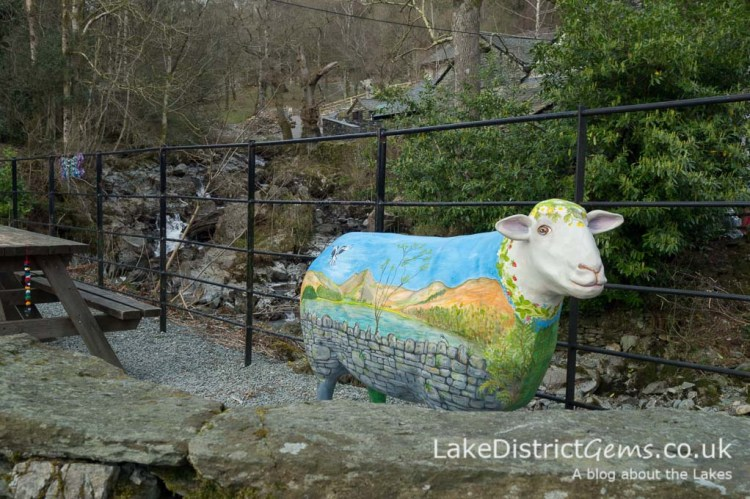 Go Herdwick at Rydal Hall