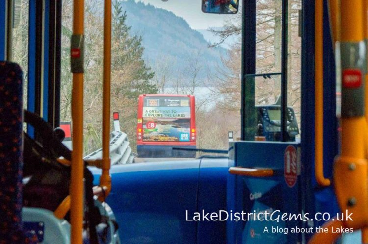 On the temporary road surface heading from Grasmere towards Thirlmere