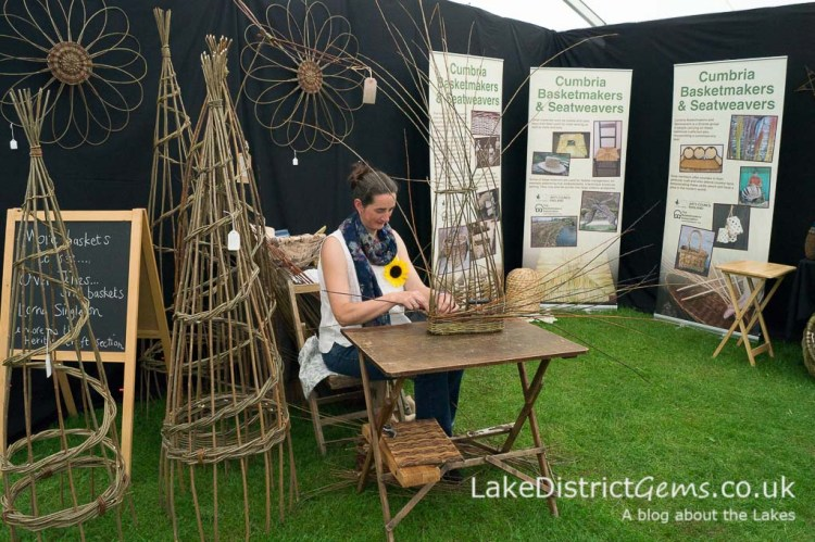The Basketmakers' Association at the Holker Garden Festival 2016