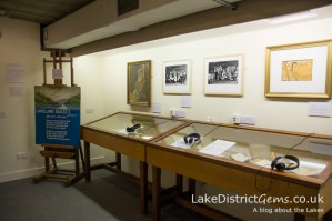 The Wordsworth Museum's room on Lakeland dialect