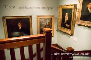 Paintings at the Wordsworth Museum, Grasmere