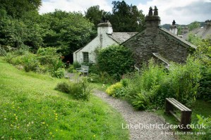 The garden at Dove Cottage, Grasmere