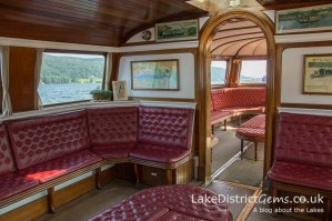 The interior of the National Trust's Gondola