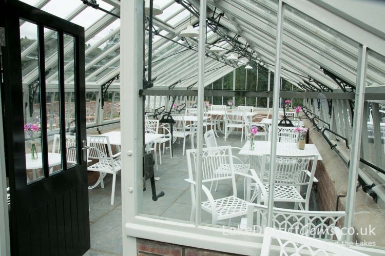The greenhouse at the Lingholm Kitchen