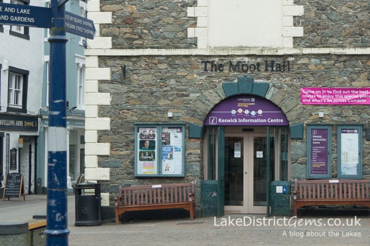 The Tourist Information Centre at the Moot Hall in Keswick