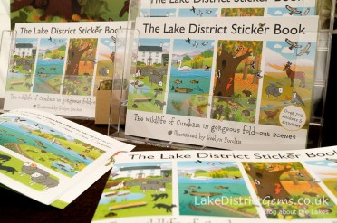 The Lake District Sticker Book