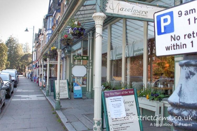 The Hazelmere Bakery at Grange-over-Sands