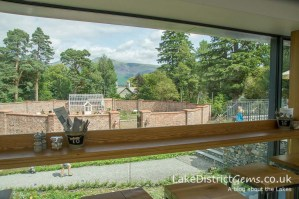 The view from the Lingholm Kitchen