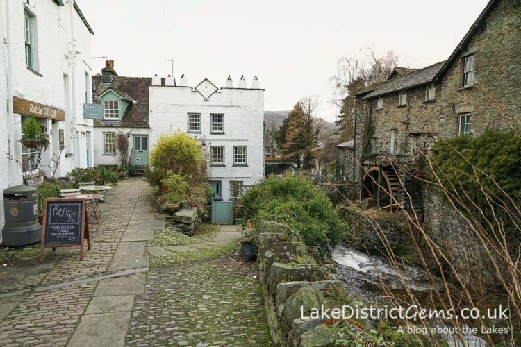 Bridge Street, Ambleside, otherwise known as Rattle Ghyll