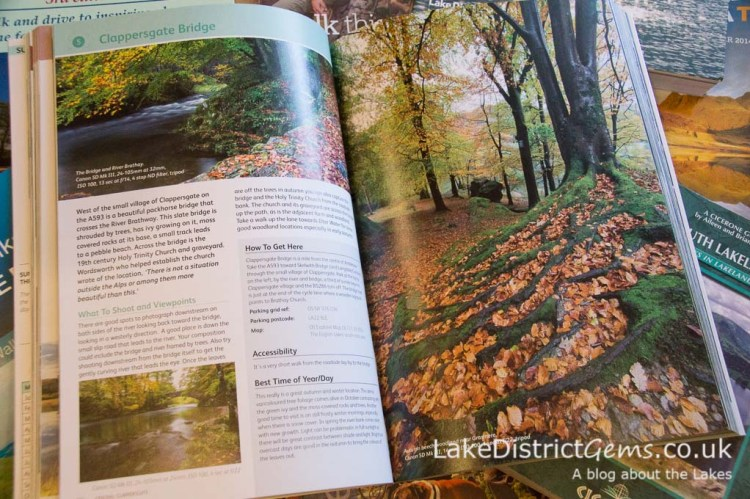 Inside 'Photographing the Lake District' by Stuart Holmes