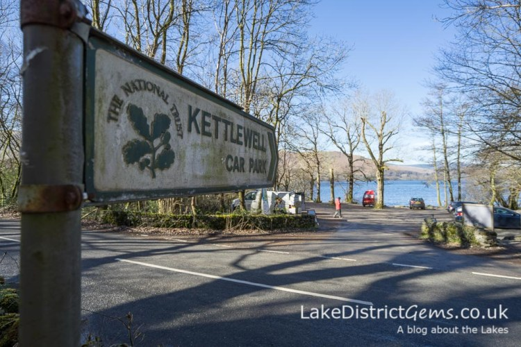 National Trust Kettlewell car park, Derwentwater