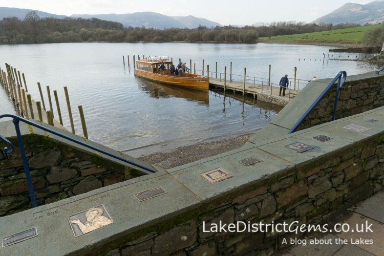 Timeline with Keswick Launch and Derwentwater in the background.