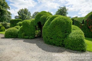 The Judge's Wig at Levens Hall