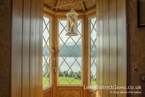 The Turret Room off Ruskin's bedroom at Brantwood, Coniston