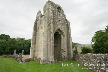 Shap Abbey's west tower