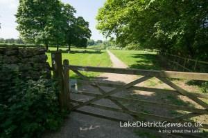 Beautiful countryside and walks around Sizergh Castle